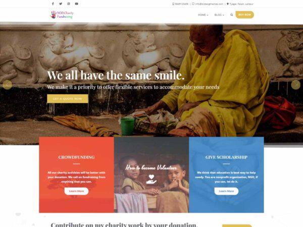 NGO Charity Fundraising PRO