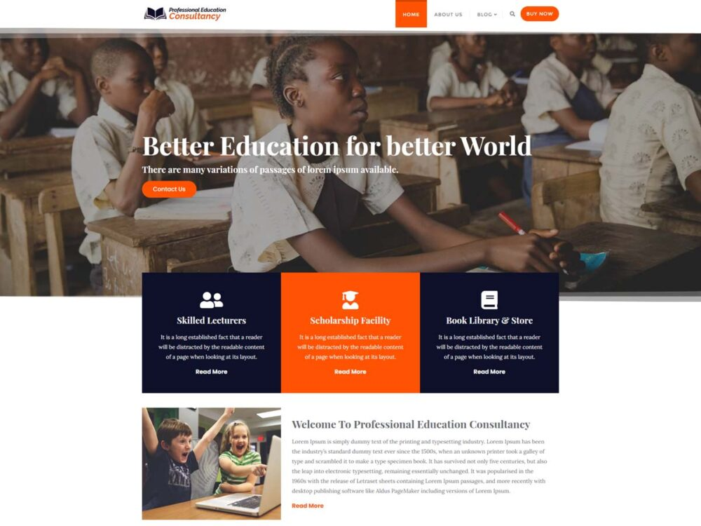 Professional Education Consultancy Lite